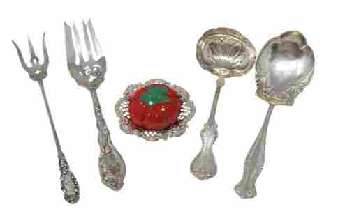 Assorted Sterling Silver Pieces 5 pieces total