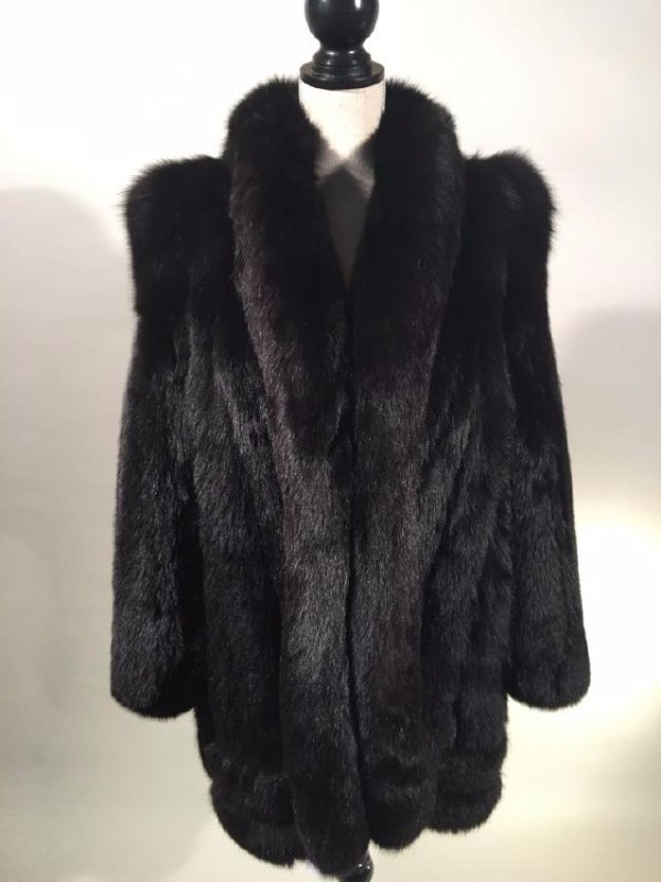 Black Fox Jacket