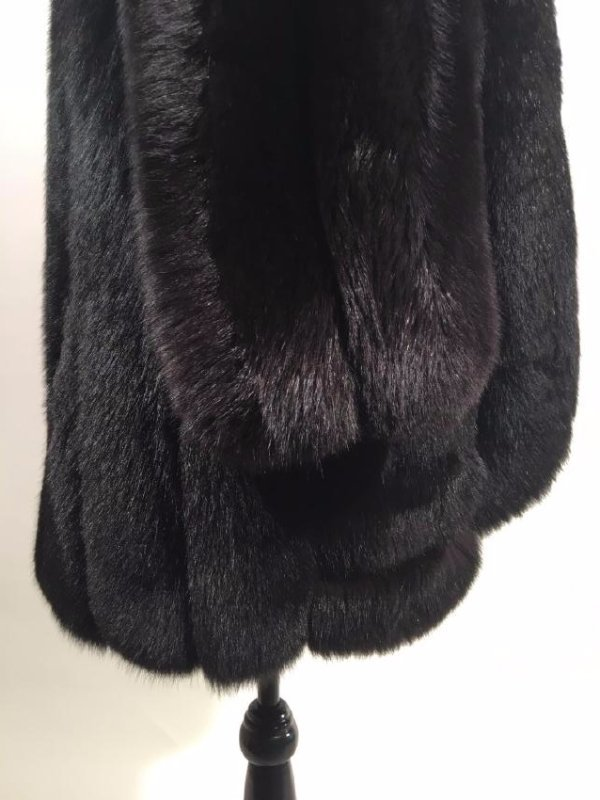 Black Fox Jacket - 4
