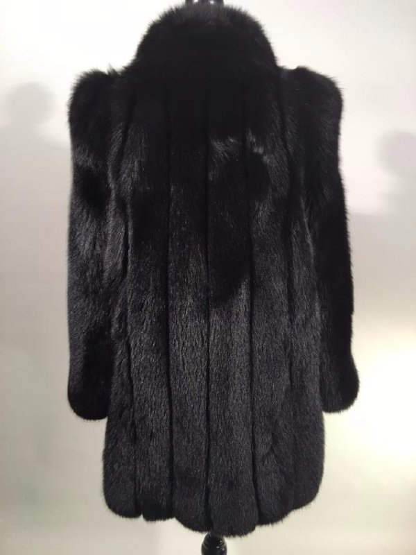 Black Fox Jacket - 6