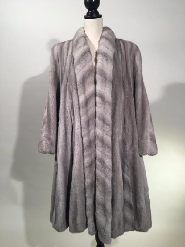 Neiman Marcus Cereullian Mink 3/4 Coat