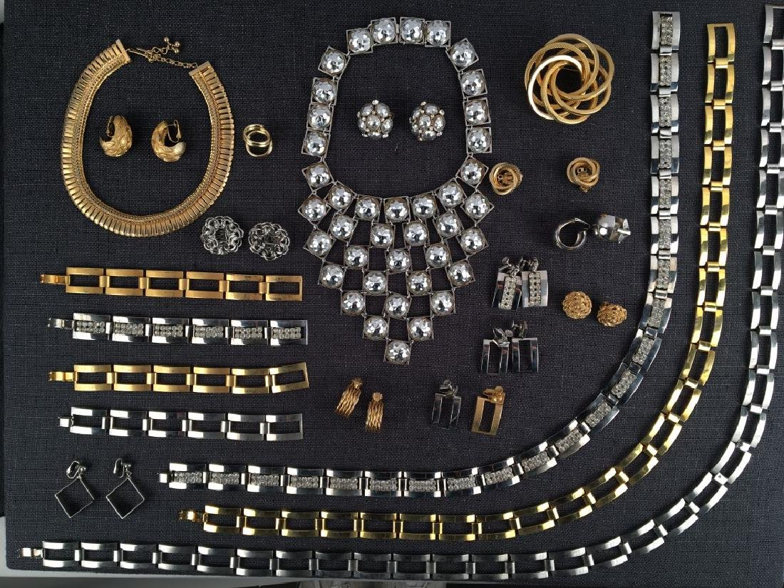 Costume Jewelry, Chains, Rhinestones Etc.