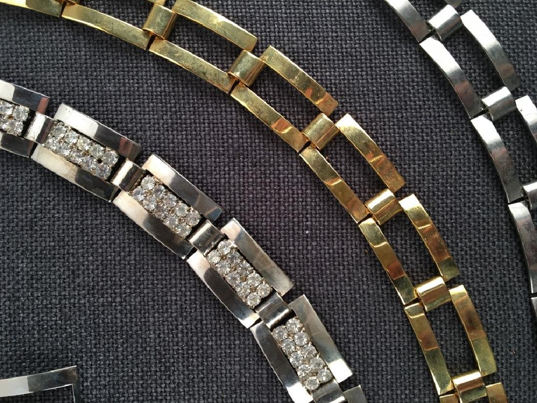 Costume Jewelry, Chains, Rhinestones Etc. - 8