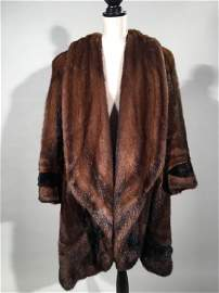 Lunaraine Long-Haired Mink Coat