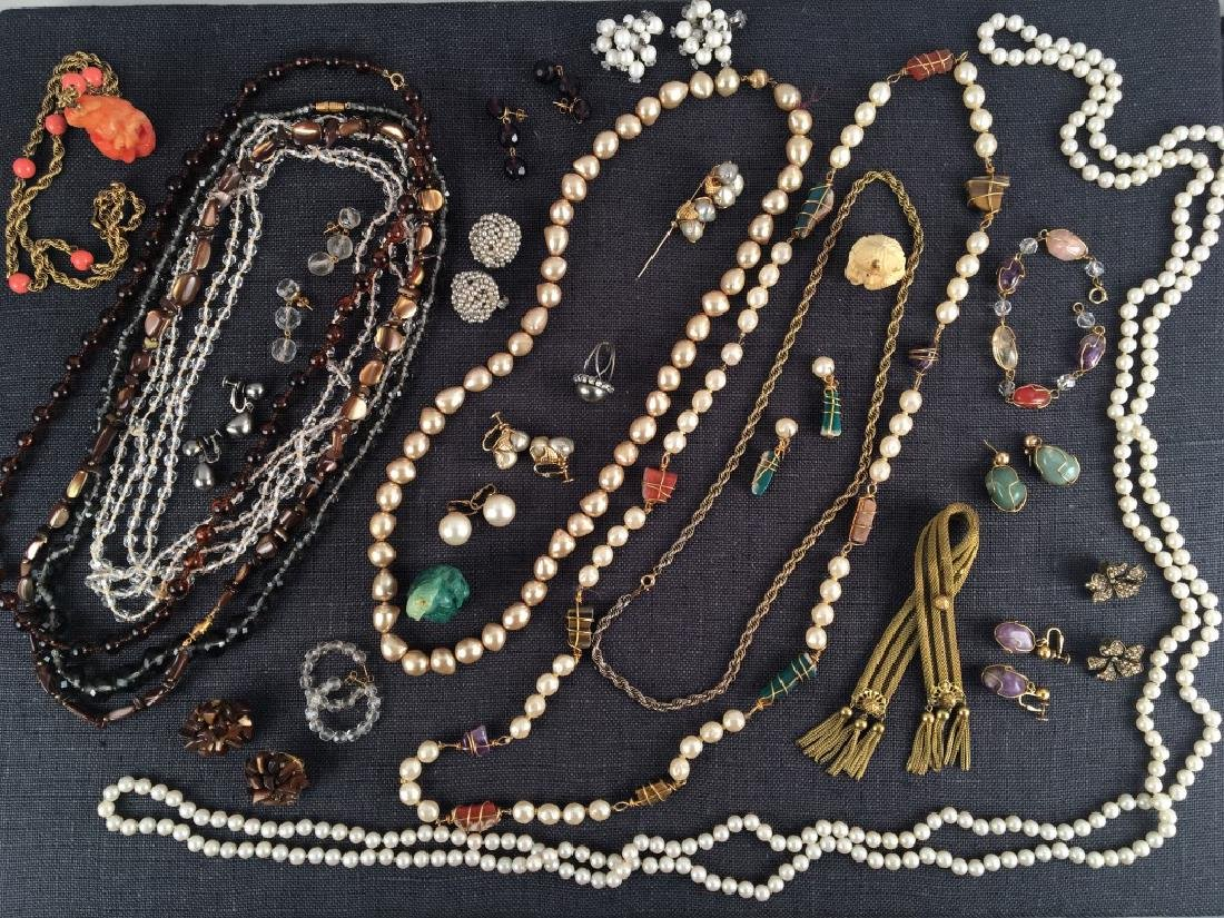 Costume Jewelry, Pearls Etc.