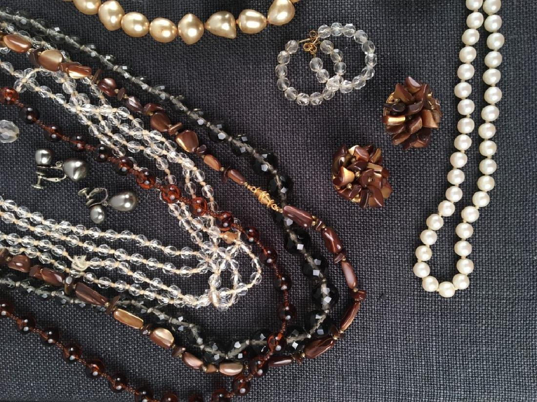 Costume Jewelry, Pearls Etc. - 2