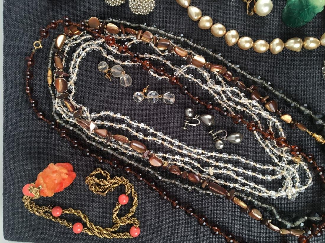 Costume Jewelry, Pearls Etc. - 3