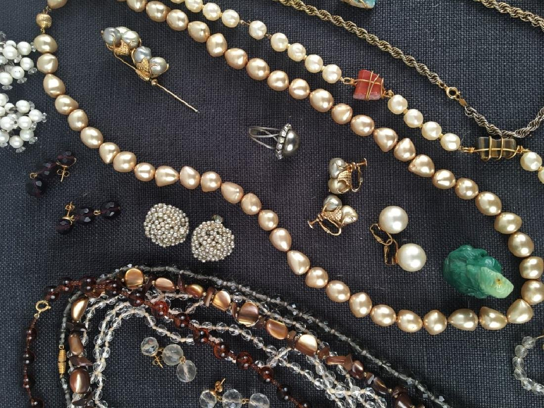 Costume Jewelry, Pearls Etc. - 4