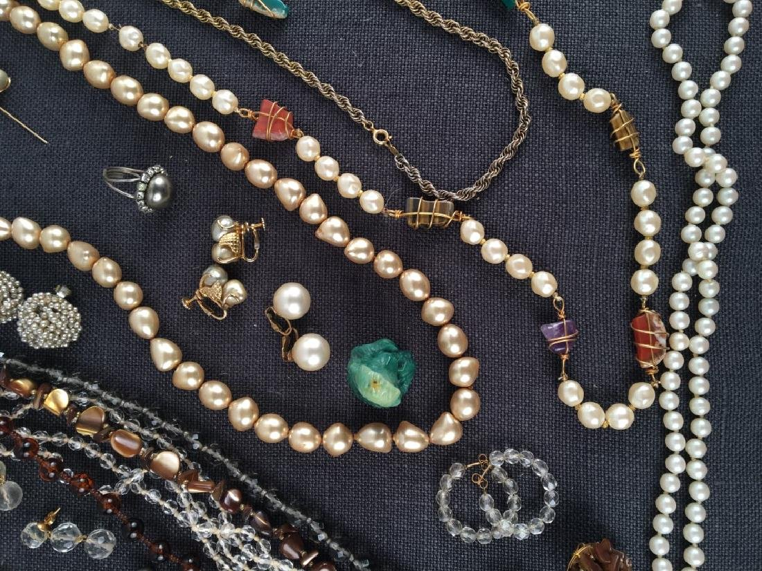 Costume Jewelry, Pearls Etc. - 5
