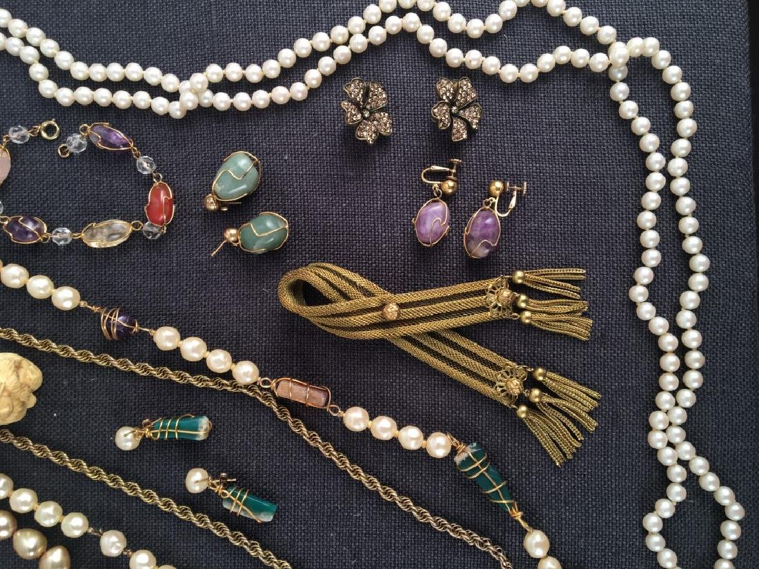 Costume Jewelry, Pearls Etc. - 6