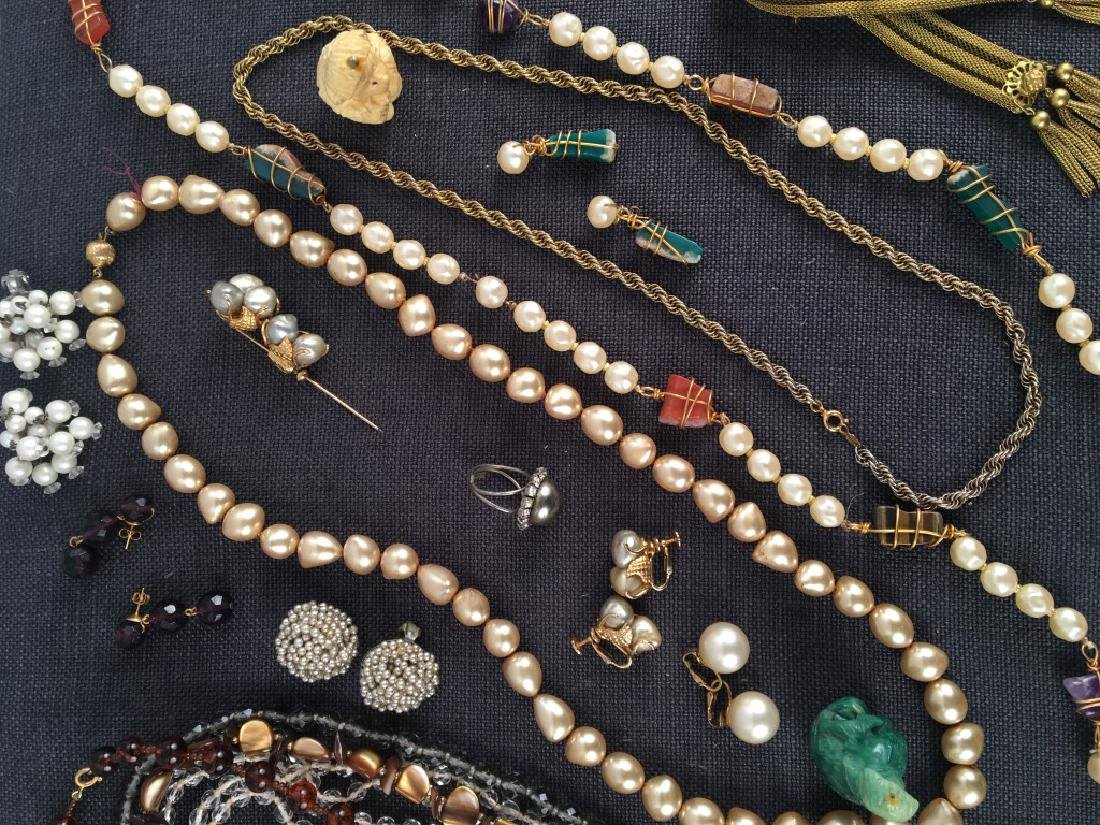 Costume Jewelry, Pearls Etc. - 8