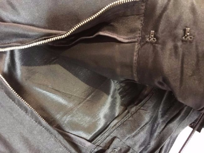 Silk Scarves And Satin Skirt - 3