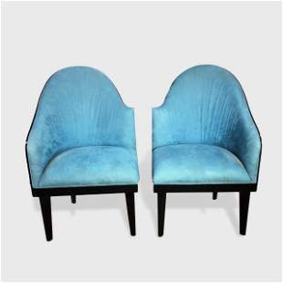 Pair of Art Deco Style Chairs