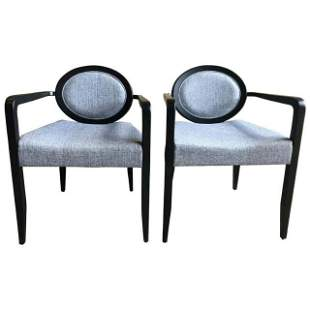 """Pair of Modern """"Elizabetha†Armchairs by Capdell"""