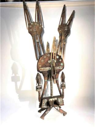 Large Tribal Sculpture, African?