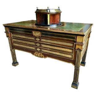 Russian Neoclassical Library Table, 19th C.
