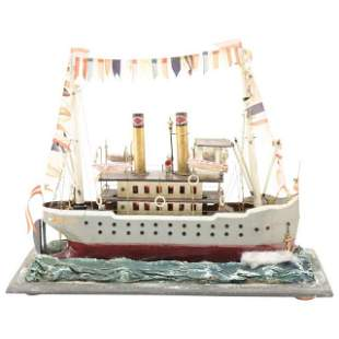 French Steamboat Model