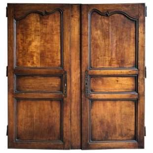 Pair of Louis XV Armoire Doors