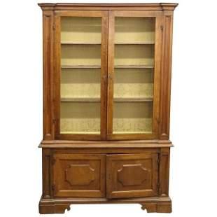 French Empire Period Bookcase, 19th C.
