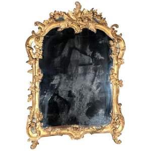 Fine Louis XV Period Mirror