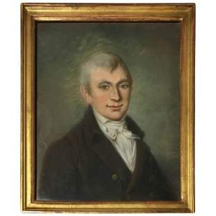 French Empire Period Portrait of a Gentleman