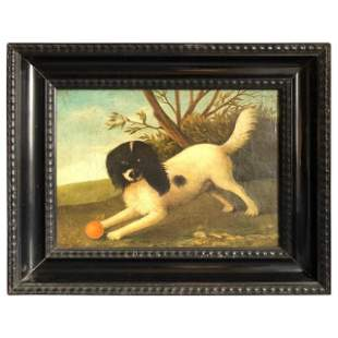 Dog Painting, French