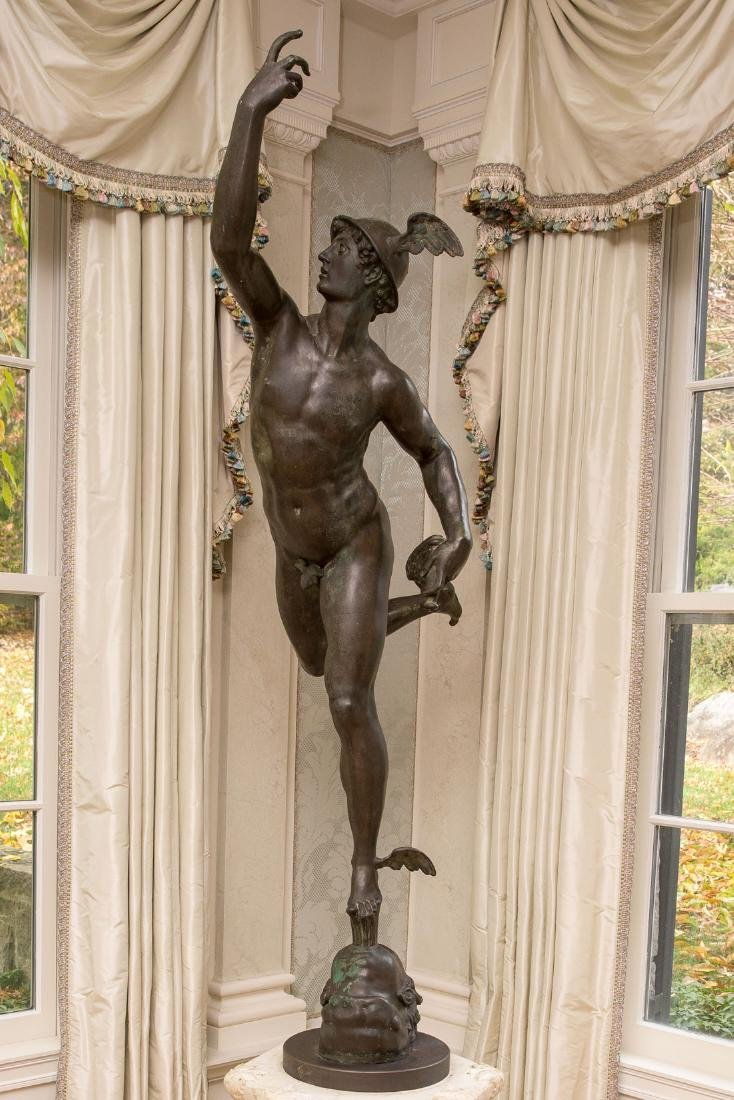 "Hermes, ""Mercury In Flight"""