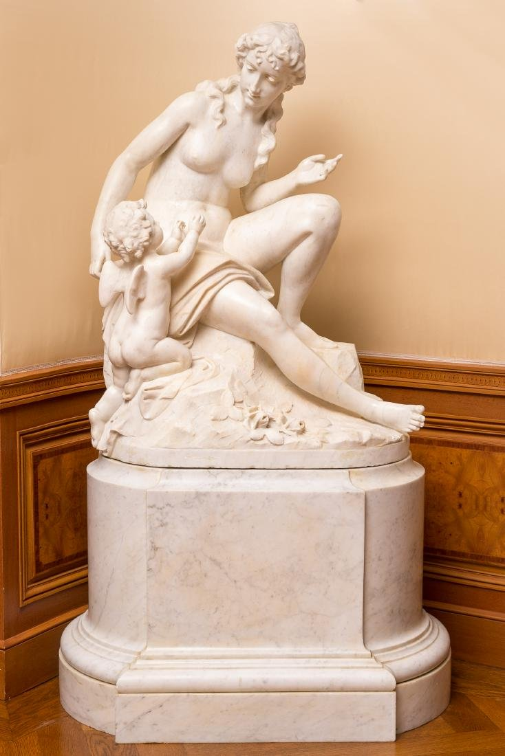 Woman and Cherub