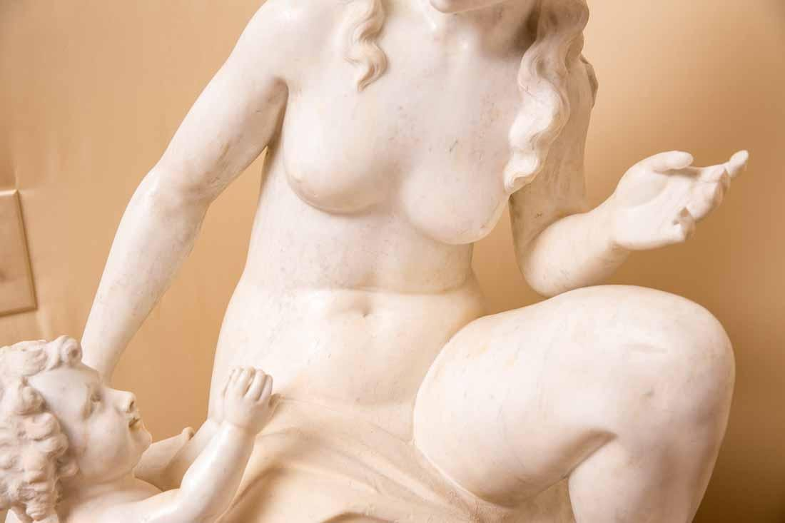 Woman and Cherub - 4