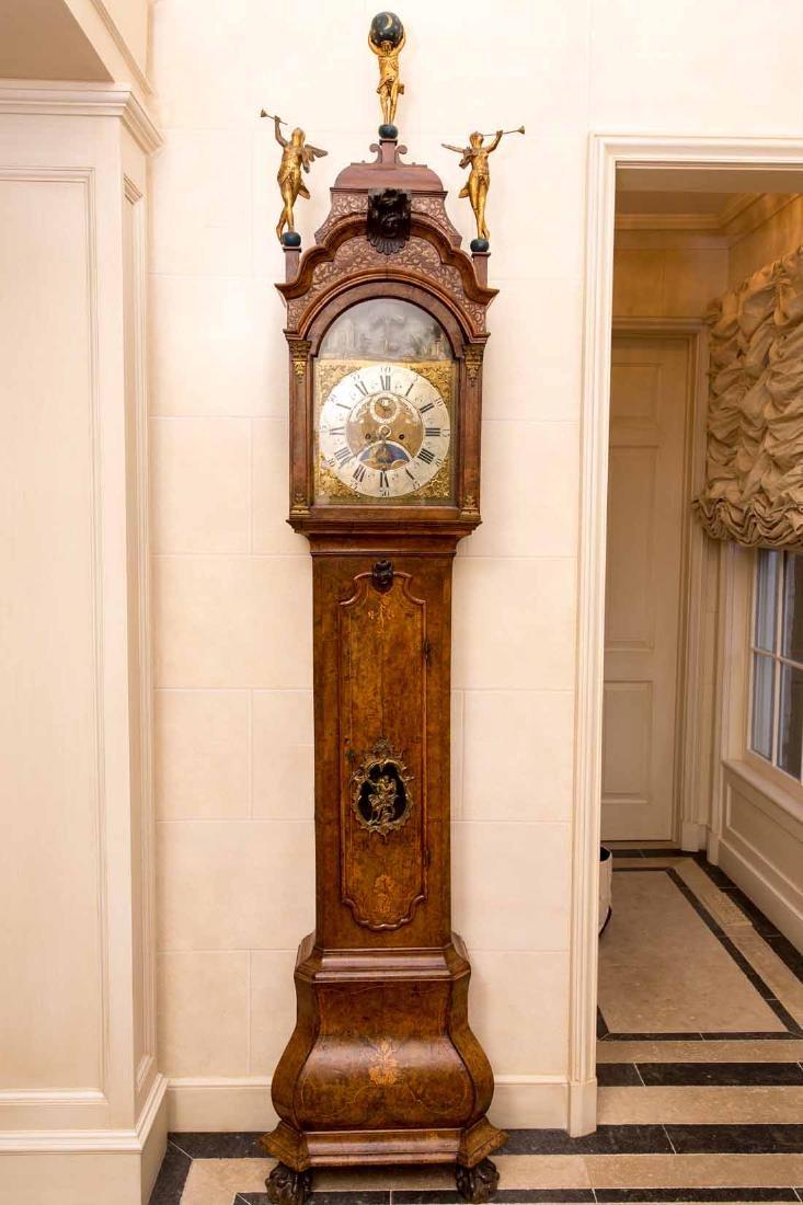 Dutch  18th c Tallcase Clock