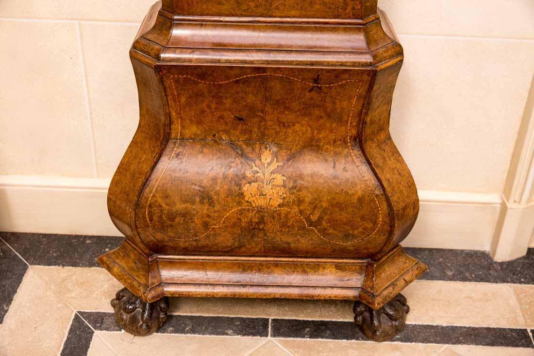 Dutch  18th c Tallcase Clock - 2