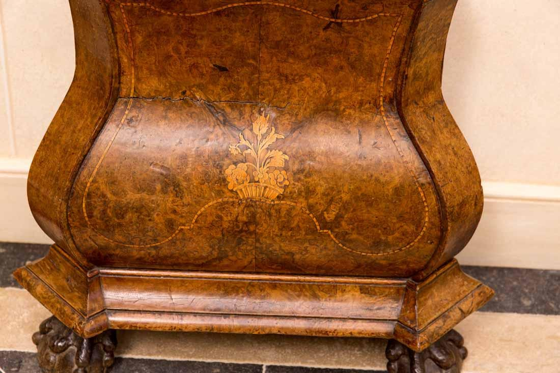 Dutch  18th c Tallcase Clock - 3
