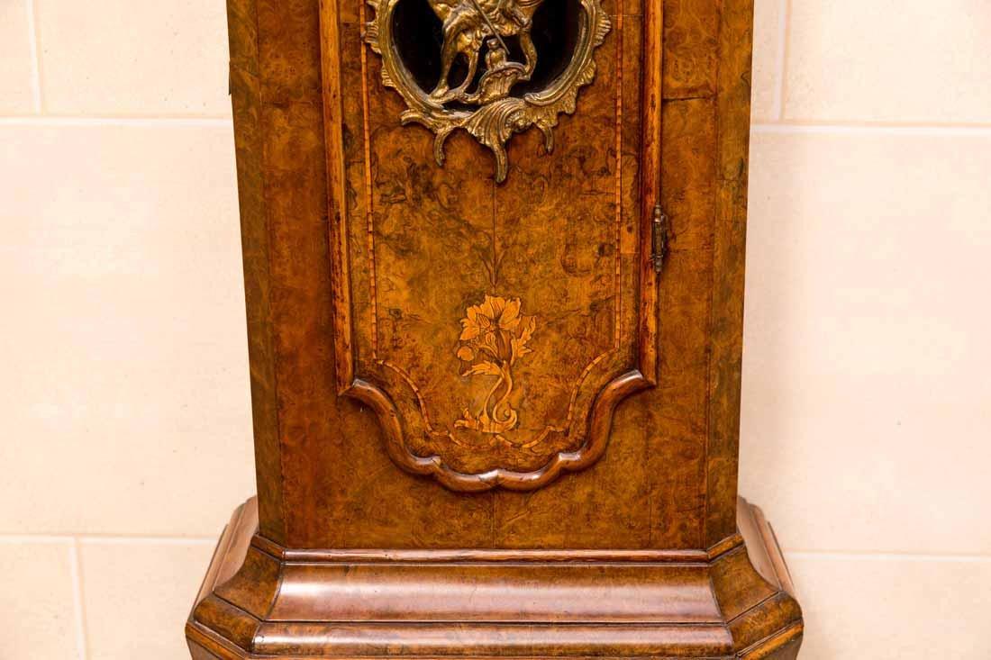 Dutch  18th c Tallcase Clock - 4