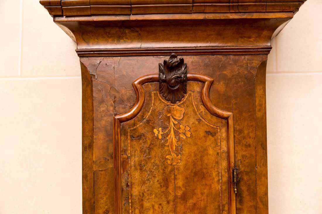 Dutch  18th c Tallcase Clock - 6