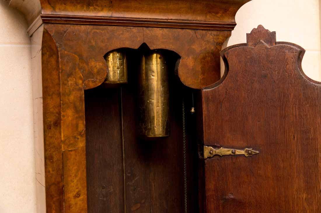 Dutch  18th c Tallcase Clock - 7