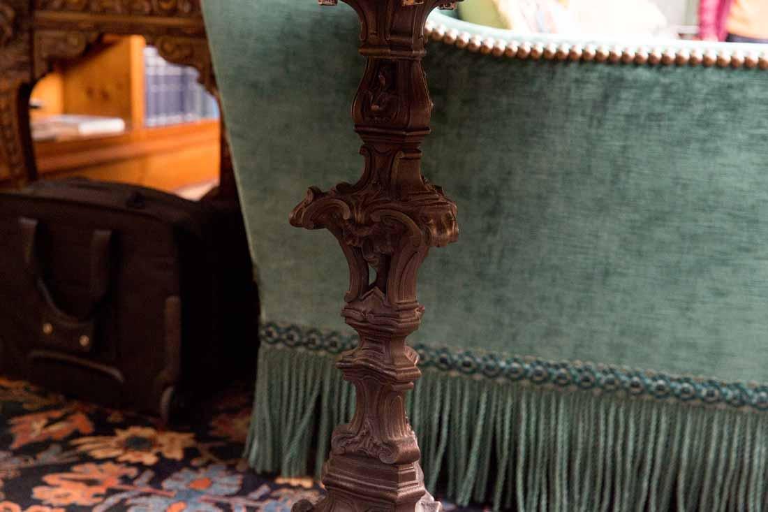 Antique Pietra Dura Round Table - 10