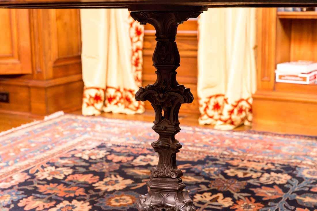 Antique Pietra Dura Round Table - 4