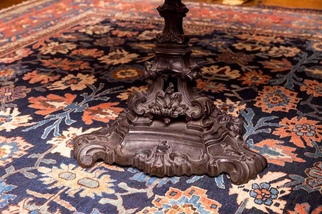Antique Pietra Dura Round Table - 5