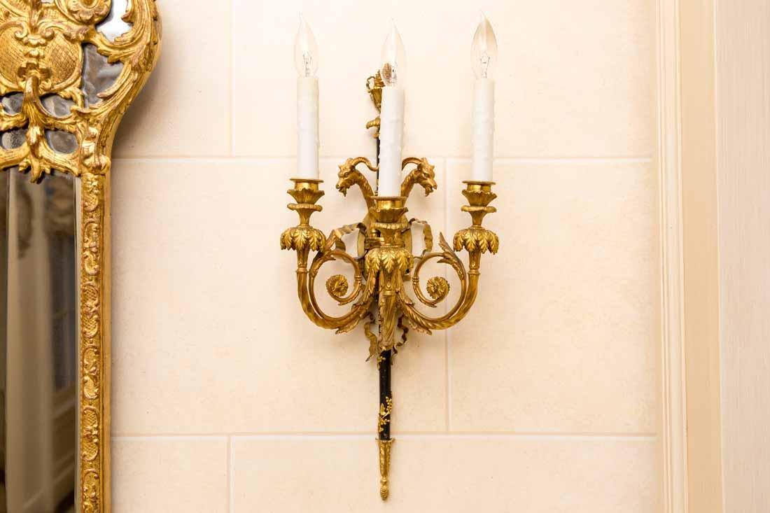 Regency Giltwood Mirror - 9