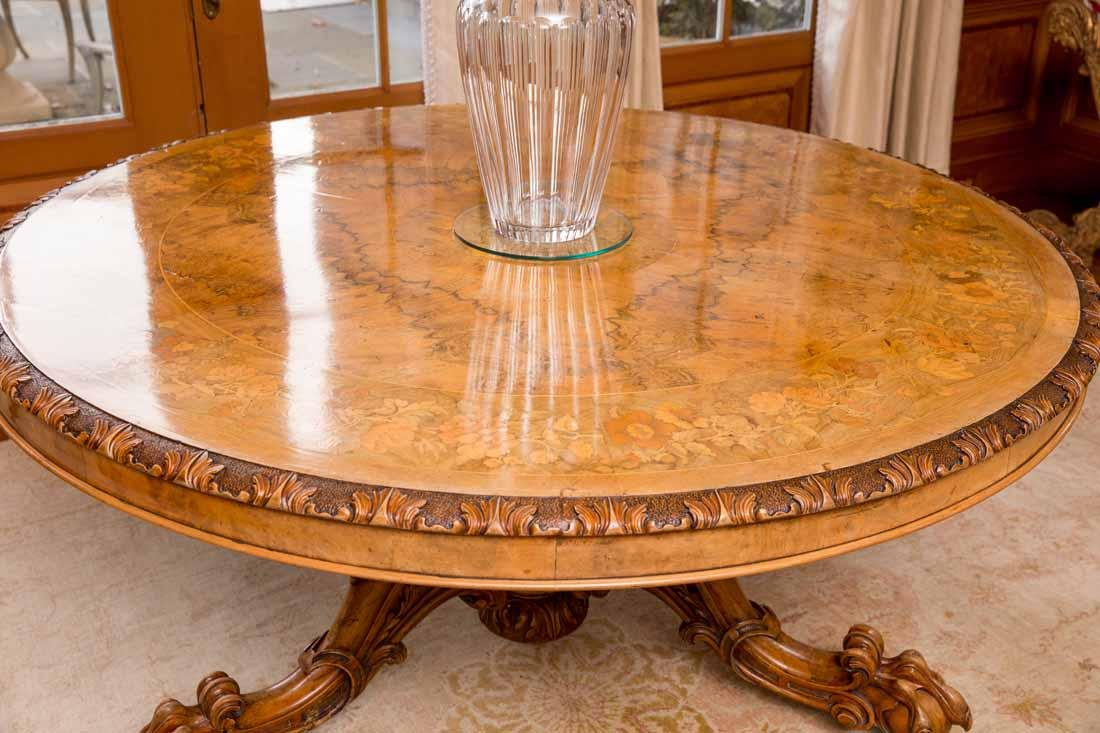 Inlaid Center Table - 2