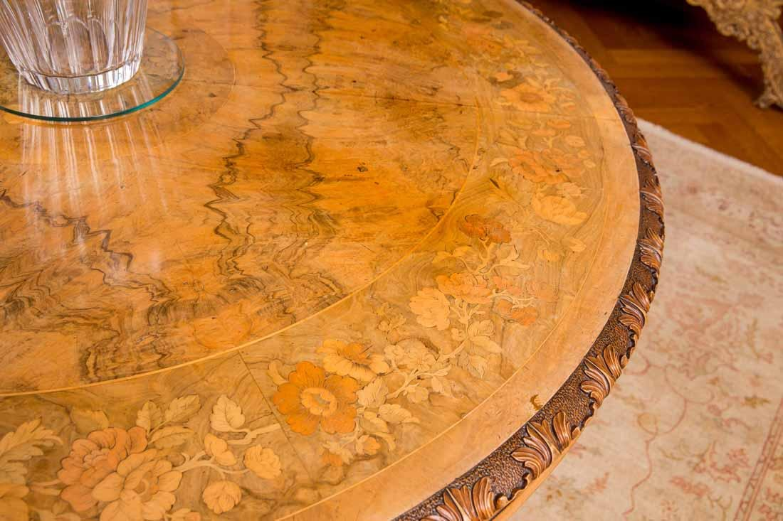 Inlaid Center Table - 4