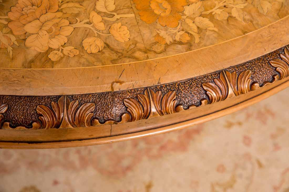 Inlaid Center Table - 5