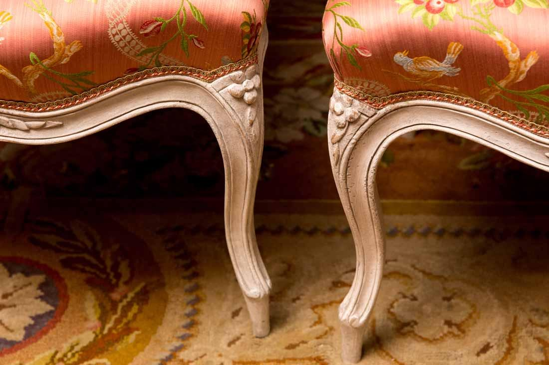 Set of 14  Louis XV  Dining Chairs by Cresson - 7