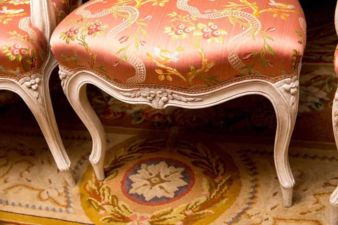 Set of 14  Louis XV  Dining Chairs by Cresson - 8
