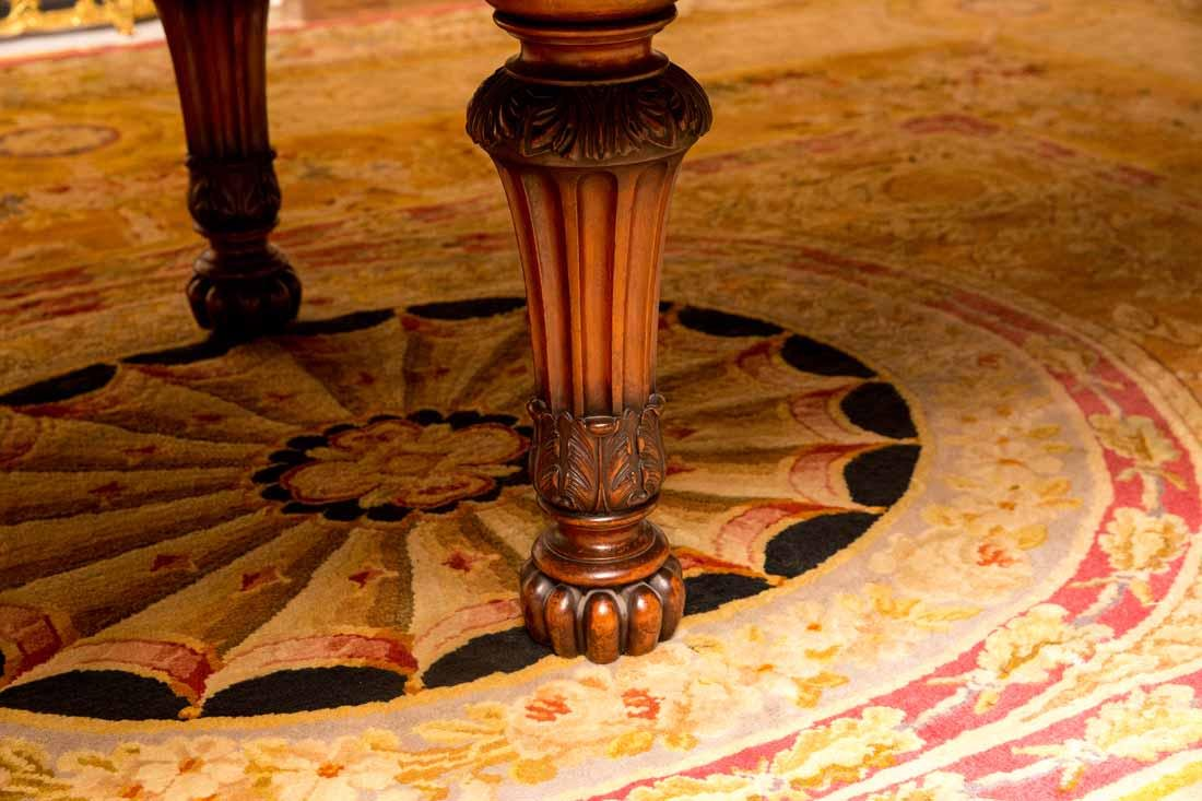 Antique English Dining Table - 5