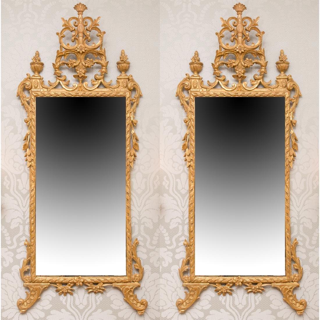 Pair of Italian Pier Mirrors