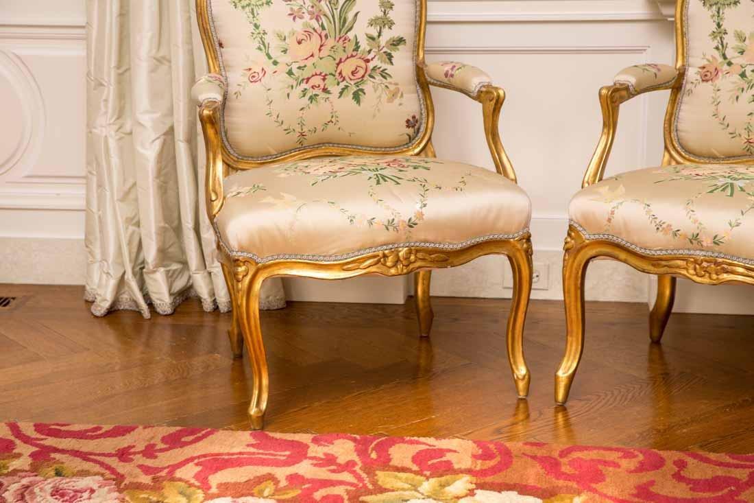 4 Louis XV Fauteils - 2