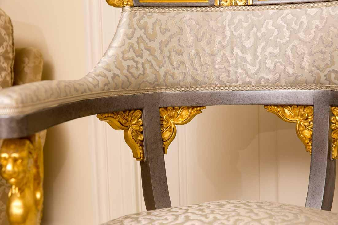 Pair of Russian Style Chairs - 10