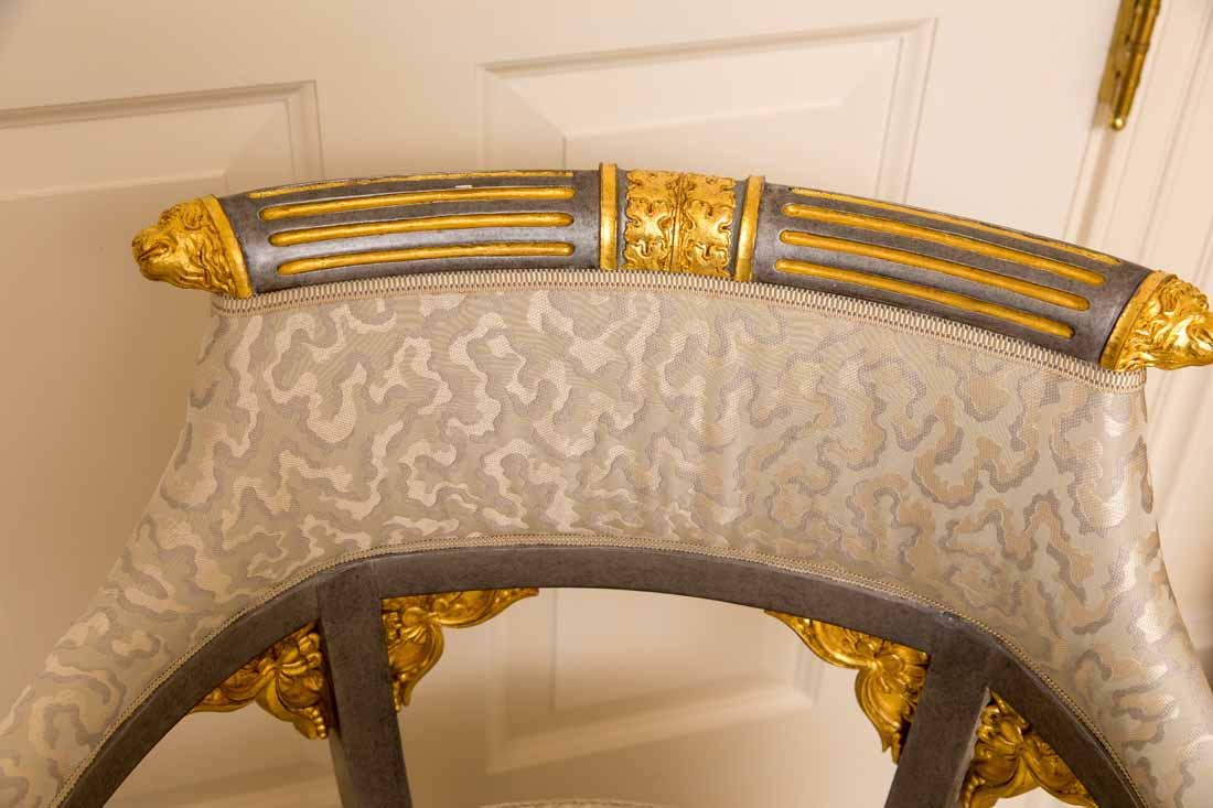 Pair of Russian Style Chairs - 5