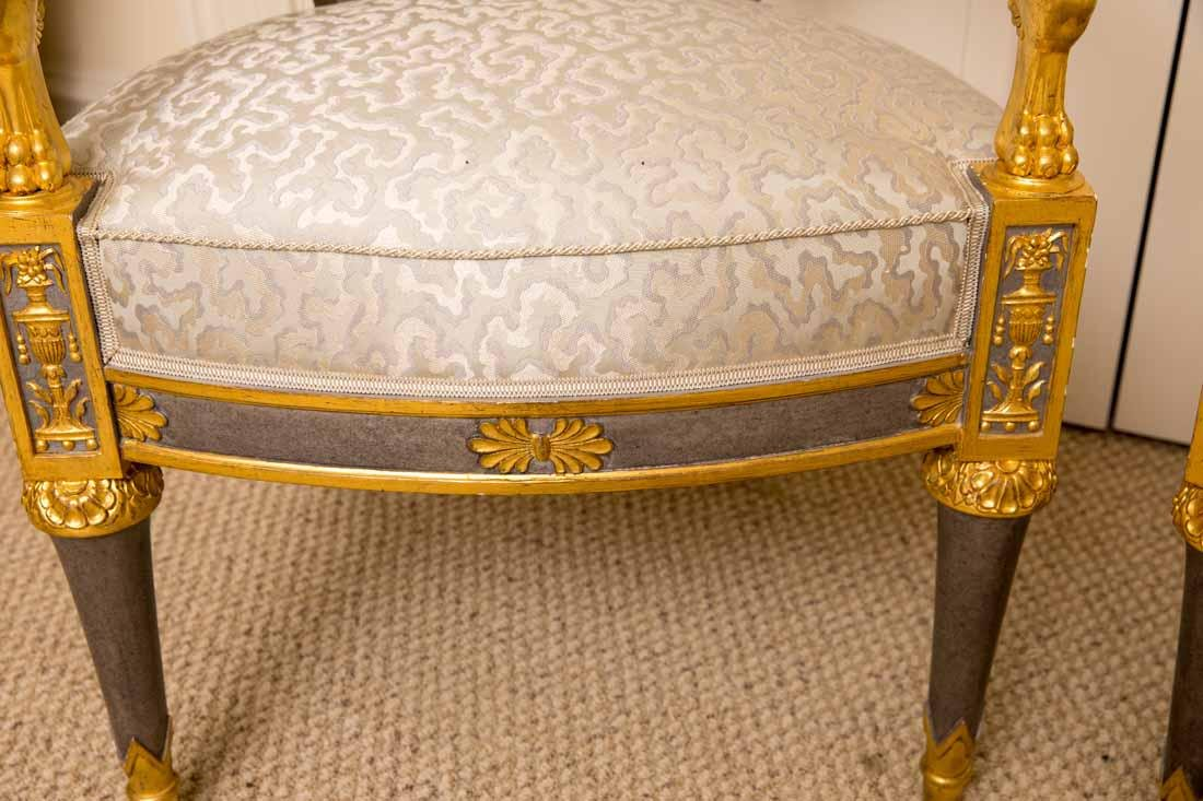 Pair of Russian Style Chairs - 7
